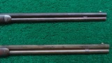 CONSECUTIVE PAIR OF WINCHESTER MODEL 1876 RIFLES BOTH IN CALIBER 40-60 WCF - 9 of 19