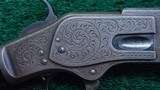 WINCHESTER 1873 FIRST MODEL DELUXE ENGRAVED RIFLE IN CALIBER 44-40 - 9 of 24