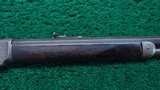 WINCHESTER 1873 FIRST MODEL DELUXE ENGRAVED RIFLE IN CALIBER 44-40 - 5 of 24