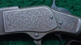 WINCHESTER 1873 FIRST MODEL DELUXE ENGRAVED RIFLE IN CALIBER 44-40 - 8 of 24