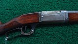 SAVAGE MODEL 1899 LEVER ACTION RIFLE IN CALIBER 30-30