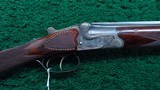 BEAUTIFUL GERMAN MADE 410 OVER AND UNDER SHOTGUN MADE BY GERBRUDER ADAMY - 2 of 25