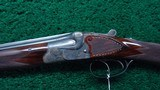 BEAUTIFUL GERMAN MADE 410 OVER AND UNDER SHOTGUN MADE BY GERBRUDER ADAMY - 3 of 25