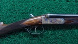 CASED CHURCHILL DOUBLE BARREL 410 SHOTGUN MODEL 25