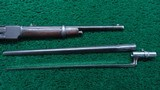 EXTREMELY RARE WINCHESTER 1873 15 INCH TRAPPER WITH A BUTTON MAG - 12 of 23