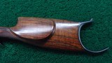HI-WALL DELUXE STRAIGHT STOCK SCHUETZEN RIFLE WITH A TAKEDOWN FRAME IN CALIBER 22 LONG RIFLE - 14 of 18