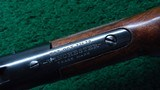 HI-WALL DELUXE STRAIGHT STOCK SCHUETZEN RIFLE WITH A TAKEDOWN FRAME IN CALIBER 22 LONG RIFLE - 8 of 18