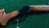 WINCHESTER MODEL 1885 TAKEDOWN HI-WALL CALIBER 32-40 SCHUETZEN RIFLE