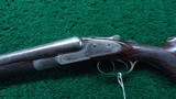 LEFEVER G GRADE DOUBLE BARREL 12 GAUGE SHOTGUN - 2 of 18