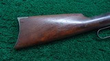 WINCHESTER MODEL 1894 FIRST MODEL RIFLE IN CALIBER 38-55 - 15 of 17