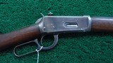 WINCHESTER MODEL 1894 FIRST MODEL RIFLE IN CALIBER 38-55 - 1 of 18