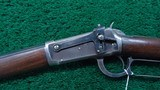 WINCHESTER MODEL 1894 FIRST MODEL RIFLE IN CALIBER 38-55 - 2 of 18