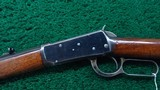 WINCHESTER FIRST MODEL 1894 RIFLE IN CALIBER 38-55 - 2 of 20