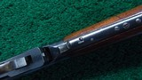 WINCHESTER FIRST MODEL 1894 RIFLE IN CALIBER 38-55 - 9 of 20