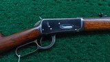 WINCHESTER FIRST MODEL 1894 RIFLE IN CALIBER 38-55 - 1 of 20
