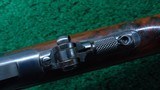 FINE WINCHESTER MODEL 1894 FIRST MODEL TAKEDOWN RIFLE IN CALIBER 38-55 - 9 of 21