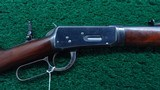FINE WINCHESTER MODEL 1894 FIRST MODEL TAKEDOWN RIFLE IN CALIBER 38-55 - 1 of 21