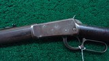 WINCHESTER FIRST MODEL 1894 RIFLE IN CALIBER 38-55 - 2 of 17