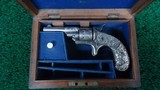 FACTORY ENGRAVED CASED COLT OPEN TOP 22 CALIBER REVOLVER - 18 of 19