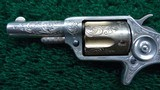 BEAUTIFUL CASED PAIR OF FACTORY ENGRAVED COLT NEW LINE REVOLVERS - 9 of 16
