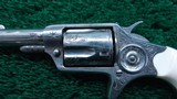 FACTORY ENGRAVED CASED NEW LINE 32 RF REVOLVER - 8 of 13