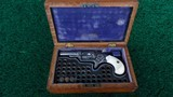 FACTORY ENGRAVED CASED NEW LINE 32 RF REVOLVER - 12 of 13