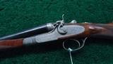 BEAUTIFUL SIDE LOCK DOUBLE BARREL HAMMER SHOTGUN BY ARMI F.LLI POLI - 2 of 25