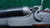 BEAUTIFUL SIDE LOCK DOUBLE BARREL HAMMER SHOTGUN BY ARMI F.LLI POLI - 8 of 25