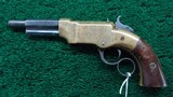 VERY SCARCE SMALL FRAME VOLCANIC LEVER ACTION REPEATING PISTOL - 2 of 9