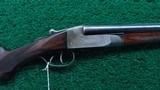 ITHACA 28 GAUGE SXS FLUES MODEL SHOTGUN