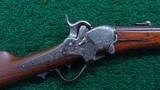 SHARPS MODEL 1851 FACTORY ENGRAVED BOXLOCK CARBINE - 1 of 23