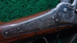 SHARPS MODEL 1851 FACTORY ENGRAVED BOXLOCK CARBINE - 11 of 23