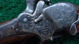 SHARPS MODEL 1851 FACTORY ENGRAVED BOXLOCK CARBINE - 9 of 23