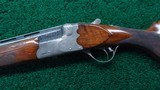 CASED 28 GAUGE O/U SHOTGUN BY JOS. DEFOURNY OF BELGIUM - 2 of 25