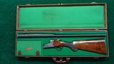 CASED 28 GAUGE O/U SHOTGUN BY JOS. DEFOURNY OF BELGIUM - 24 of 25