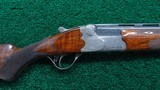 CASED 28 GAUGE O/U SHOTGUN BY JOS. DEFOURNY OF BELGIUM - 1 of 25
