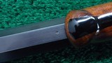 ONE OF A KIND FACTORY ENGRAVED WINCHESTER LO-WALL SCHUETZEN RIFLE - 14 of 25