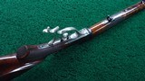 ONE OF A KIND FACTORY ENGRAVED WINCHESTER LO-WALL SCHUETZEN RIFLE - 4 of 25