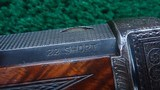 ONE OF A KIND FACTORY ENGRAVED WINCHESTER LO-WALL SCHUETZEN RIFLE - 7 of 25