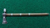 EXHIBITION GRADE QUALITY PIPE TOMAHAWK - 1 of 14