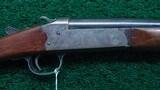 SPRINGFIELD SINGLE BARREL HAMMER 16 GAUGE SHOTGUN