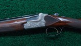 CASED MERKEL POST-WAR 2-BARREL SET 16 GAUGE O/U SHOTGUN BARREL AND 30-06 O/U RIFLE BARREL - 2 of 25