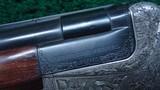 CASED MERKEL POST-WAR 2-BARREL SET 16 GAUGE O/U SHOTGUN BARREL AND 30-06 O/U RIFLE BARREL - 11 of 25
