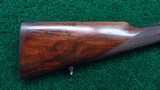 CASED MERKEL POST-WAR 2-BARREL SET 16 GAUGE O/U SHOTGUN BARREL AND 30-06 O/U RIFLE BARREL - 20 of 25
