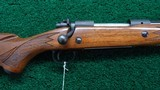 WINCHESTER MODEL 70 RIFLE IN CALIBER 375 H & H MAG