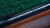 PROTOTYPE FEATHER WEIGHT WINCHESTER MODEL 70 RIFLE IN CALIBER 308 - 6 of 20