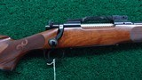 PROTOTYPE FEATHER WEIGHT WINCHESTER MODEL 70 RIFLE IN CALIBER 308 - 1 of 20
