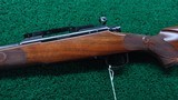 PROTOTYPE FEATHER WEIGHT WINCHESTER MODEL 70 RIFLE IN CALIBER 308 - 2 of 20