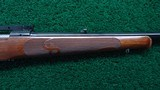 PROTOTYPE FEATHER WEIGHT WINCHESTER MODEL 70 RIFLE IN CALIBER 308 - 5 of 20