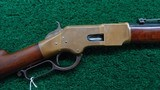 WINCHESTER 1866 2ND MODEL HENRY MARKED SPORTING RIFLE